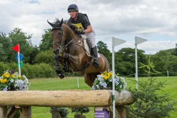 Oliver Townend (GBR) riding Ridire Dorcha