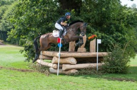 Oliver Townend and Ridire Dorcha taking part in the CIC Two Star Cross Country